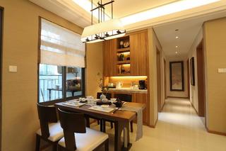 108平中式风之家餐厅设计图