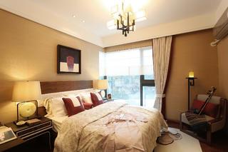 108平中式风之家卧室设计图
