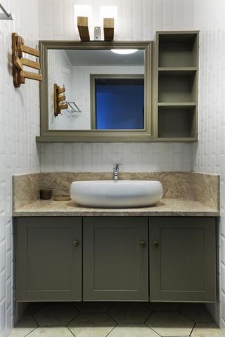 110㎡北欧风格家洗手台设计