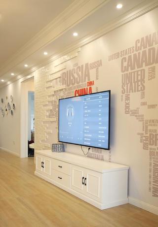 127平北欧之家电视背景墙图片