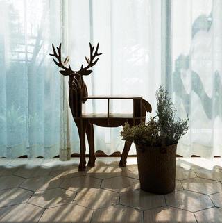 110㎡北欧风格家 日光花园