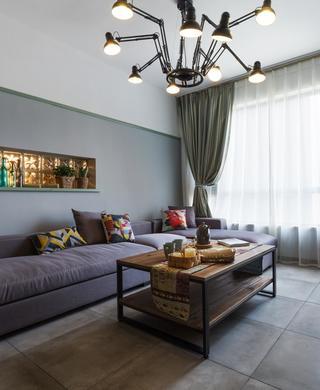 混搭二居装修设计 绿光森林