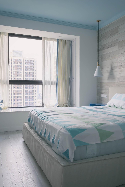 北欧风格三居卧室设计图