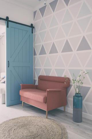 北欧风格三居沙发图片