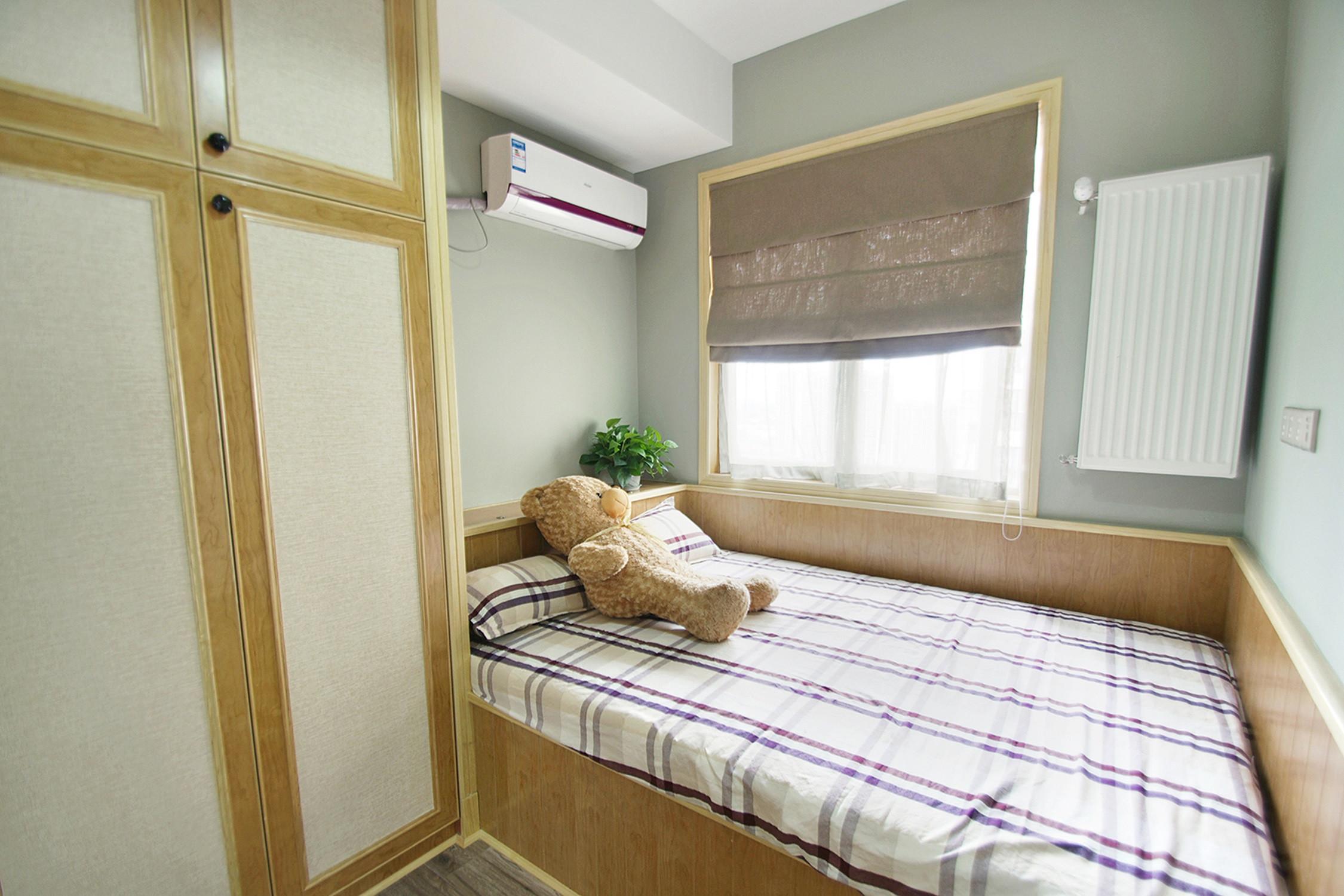 日式三居装修次卧设计图