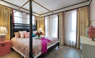 大户型东南亚风格装修卧室设计图