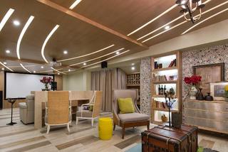 大戶型東南亞風格裝修地下室設計圖