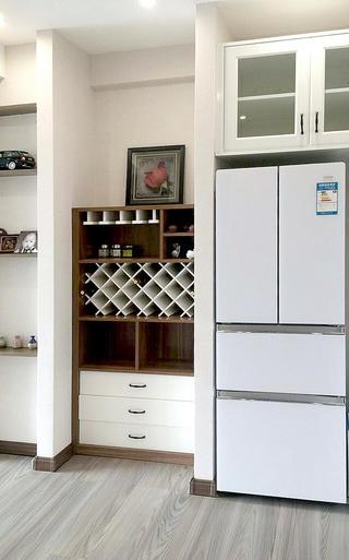 80平二居室设计酒柜图片