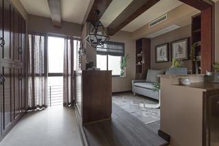 美式二居装修休闲室布置图