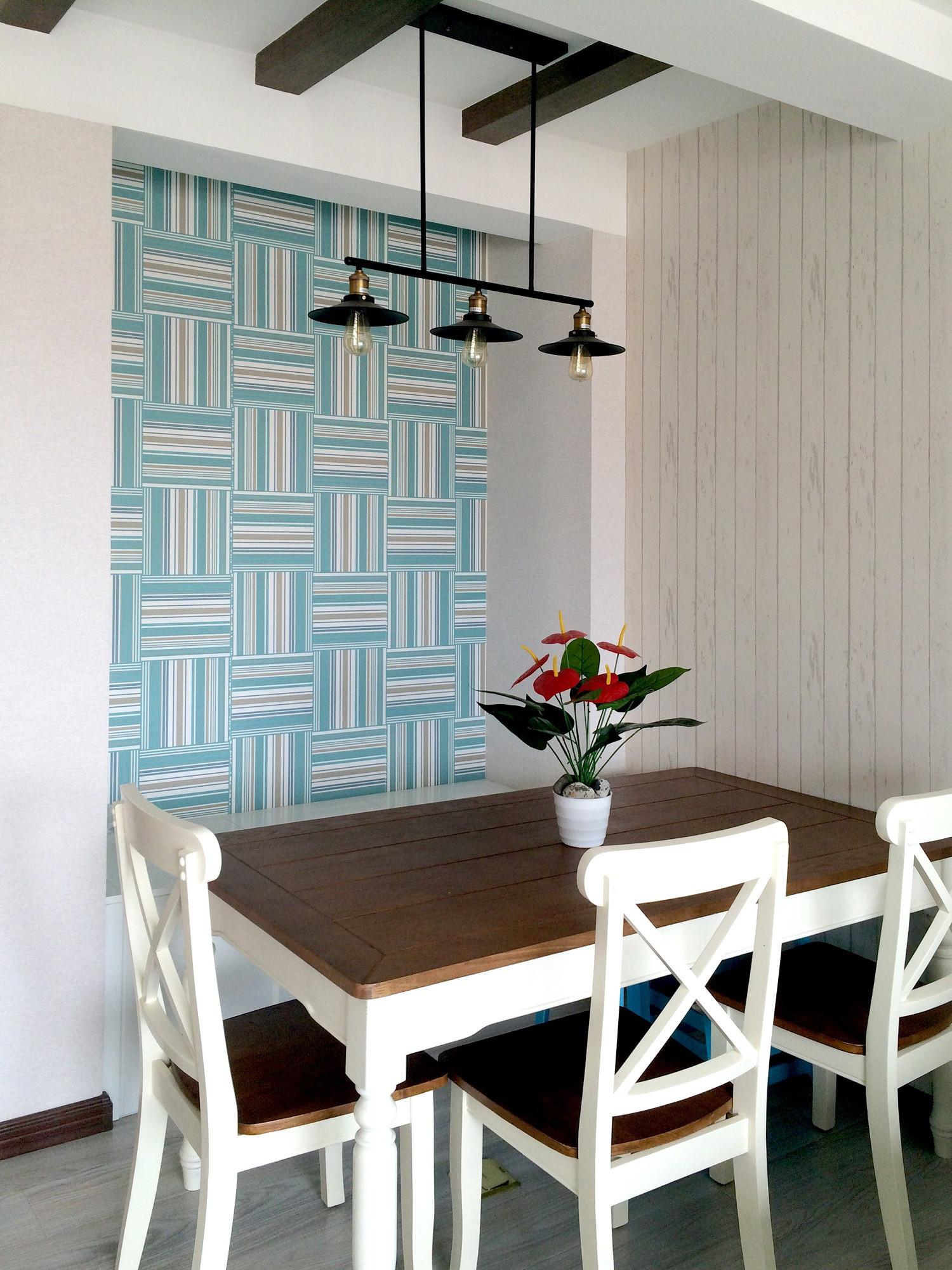 80平二居室餐厅设计图
