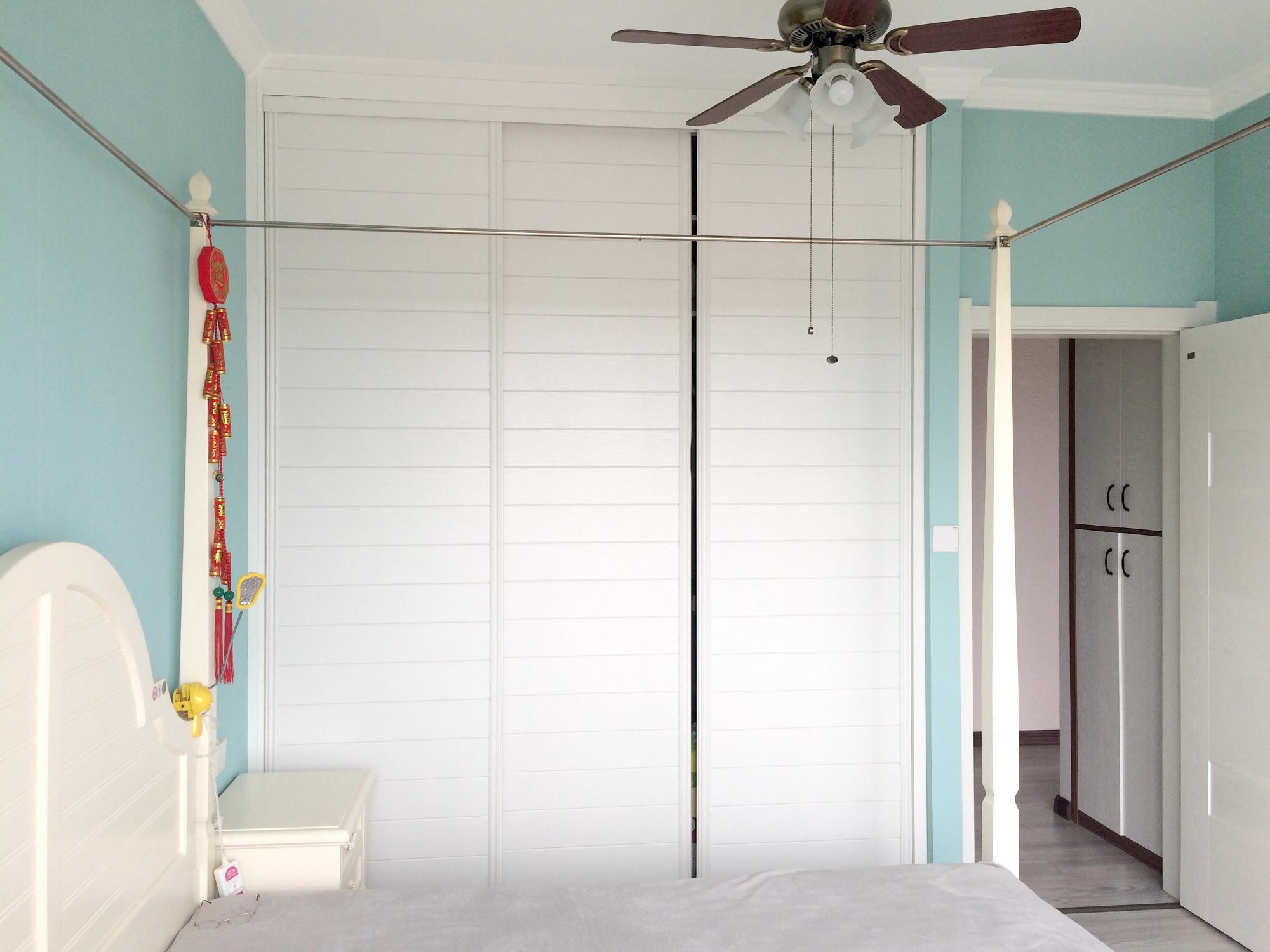 80平二居室衣柜图片