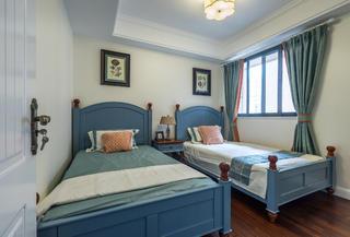 150平美式之家次卧设计图