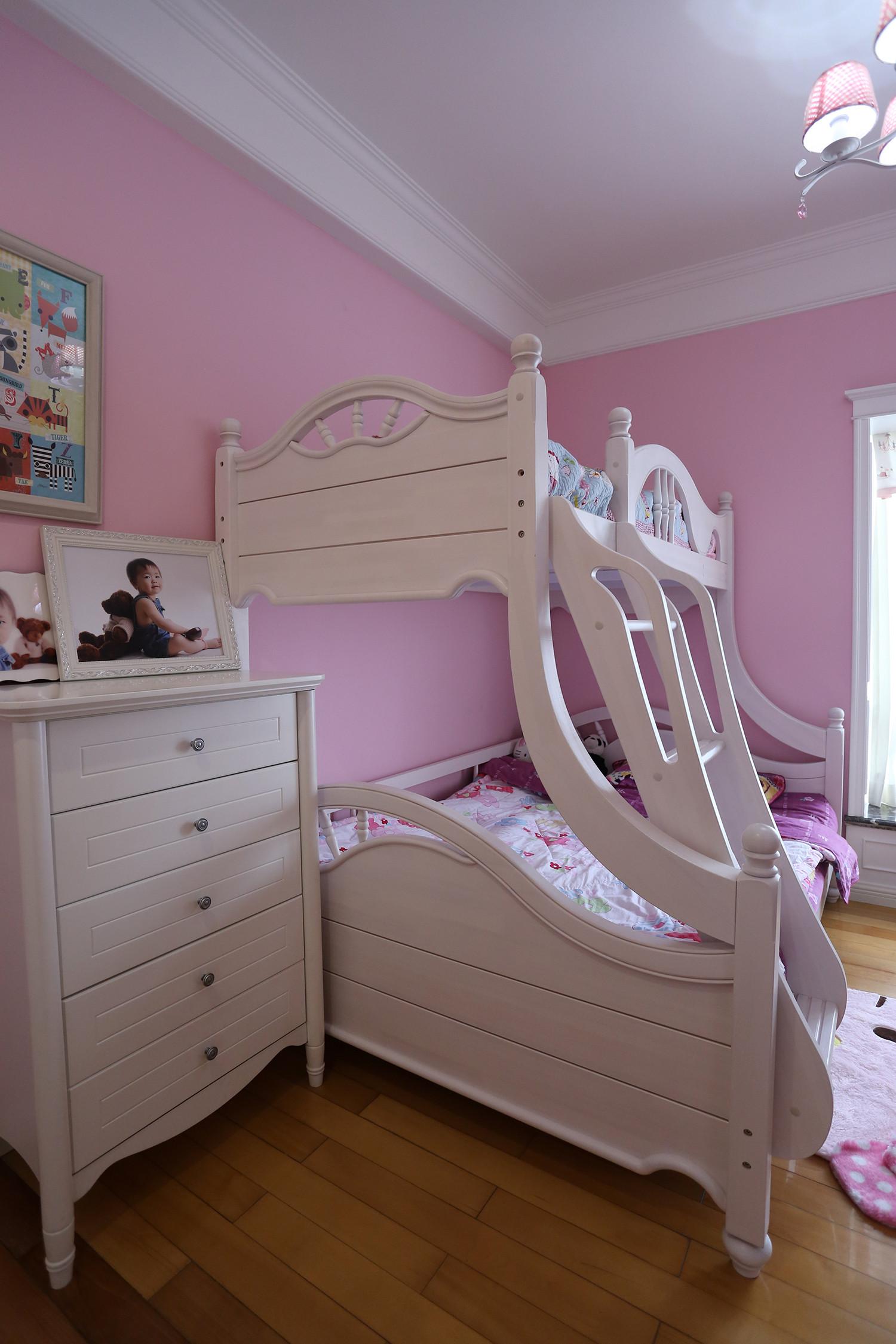 大户型美式风装修儿童床图片