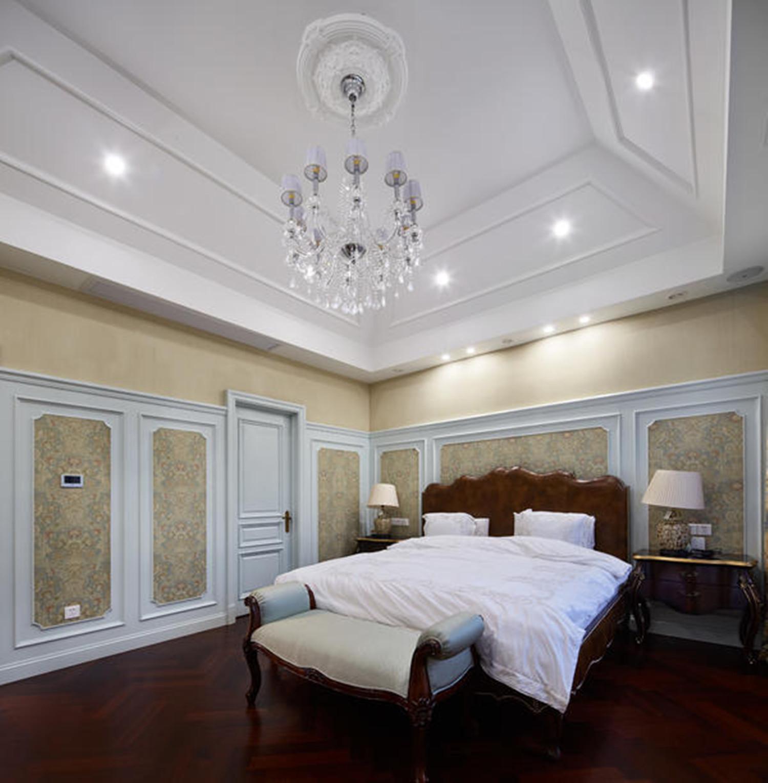 法式别墅装修卧室搭配图