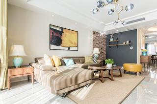 三居室北欧风之家沙发图片