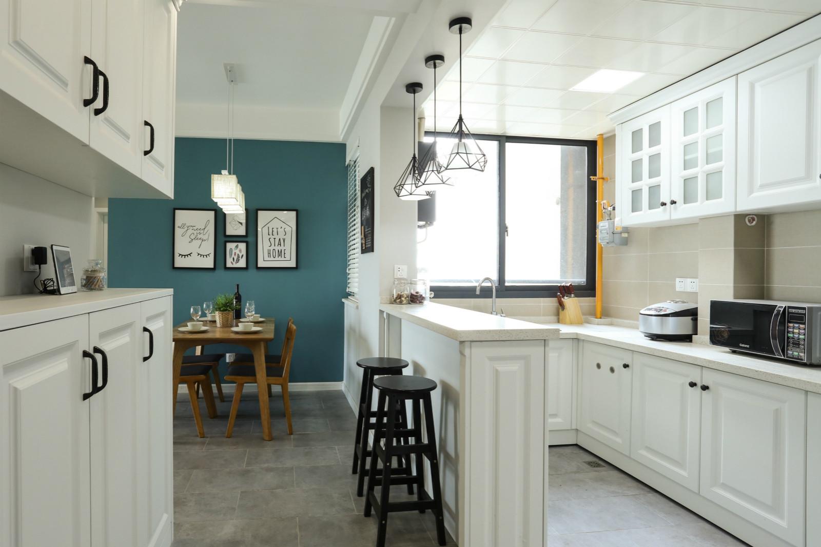 65平公寓装修厨房设计图
