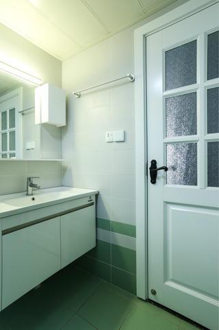 65平公寓装修洗手台图片