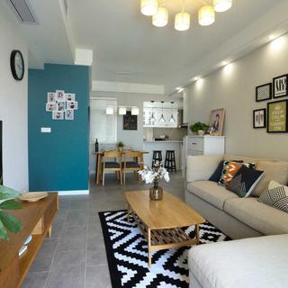 65平公寓装修 北欧风情舒适家