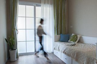 85平简美之家休闲室布置图