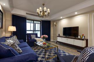 美式四房装修沙发图片