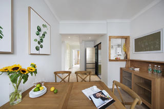 北欧风三居之家餐桌图片