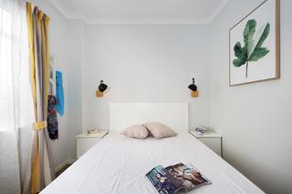 北欧风三居之家卧室背景墙图片