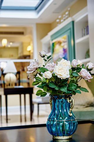美式别墅装修花瓶图片