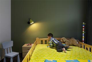 复式简约装修儿童房设计图