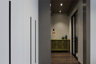 复式简约装修走廊图片