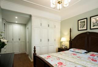 90平美式风格家衣柜图片