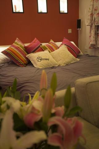 现代简约一居装修抱枕图片