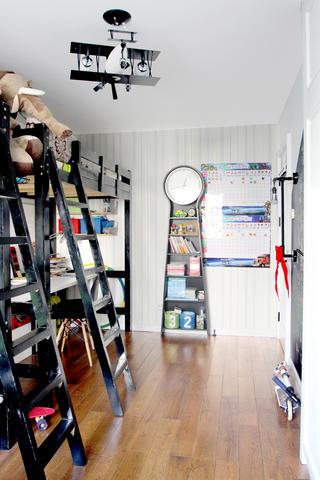美式风格二居装修儿童房设计图