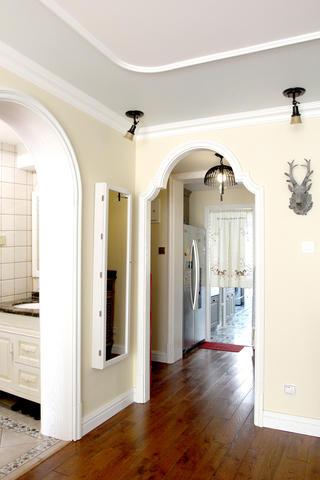 美式风格二居装修垭口造型图片