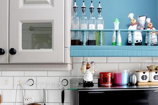 美式风格二居装修厨房调味用品