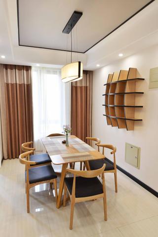 120平中式风格家餐厅设计图