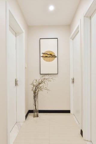 120平中式风格家卧室走廊