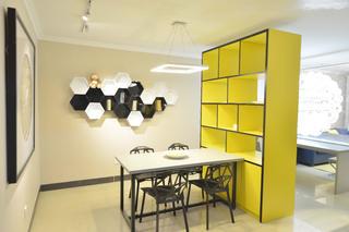 130平简约空间餐厅设计图