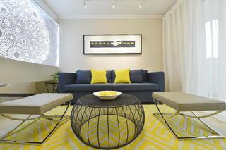 130平简约空间客厅搭配图