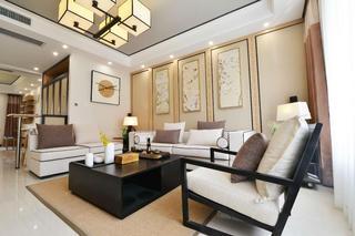 120平中式风格家沙发图片