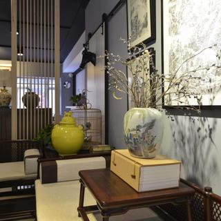 中式风格工作室装修效果图
