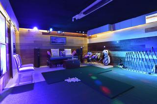 中式风格工作室装修地下室休闲区
