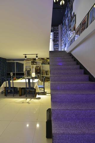 中式风格工作室装修楼梯图片