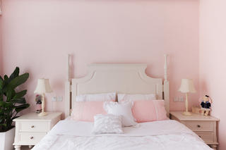 三居室美式风格家卧室设计图