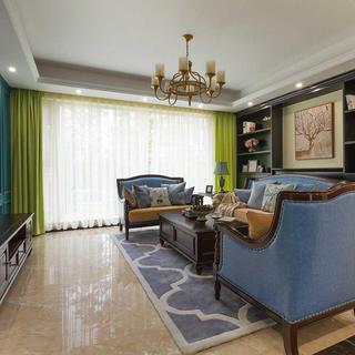 三居室美式风格家 梦幻温馨