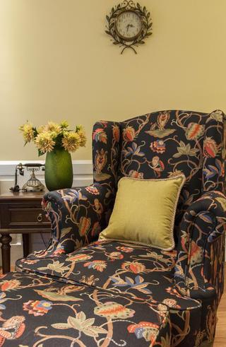 乡村美式二居沙发椅图片