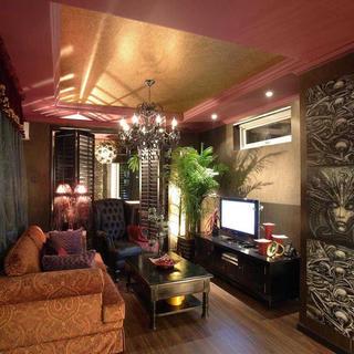 混搭一居装修设计 神秘色彩