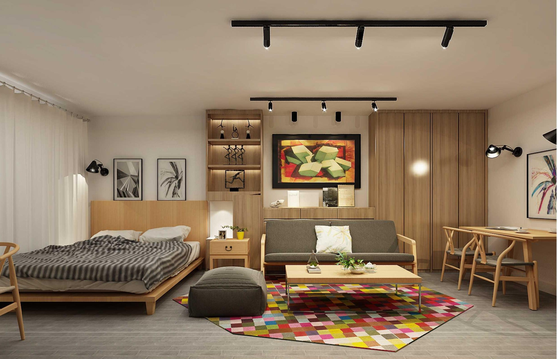北欧小户型装修沙发背景墙图片