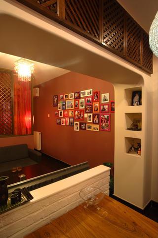 东南亚风格小户型装修储物柜图片