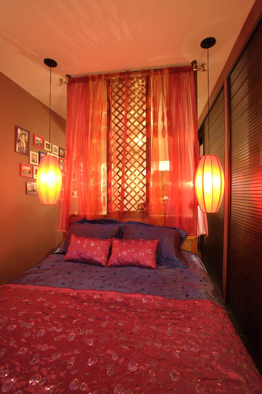 东南亚风格小户型装修床上用品图片
