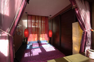 東南亞風格小戶型裝修窗簾圖片